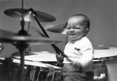 young drumer